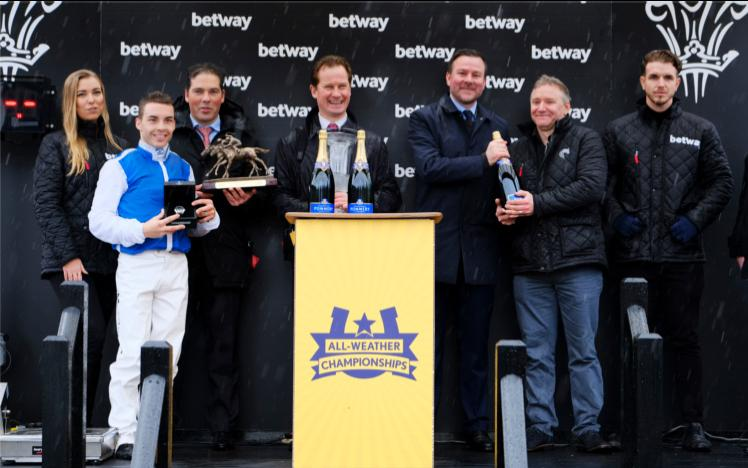 Betway extend their support of the All-Weather Championships.
