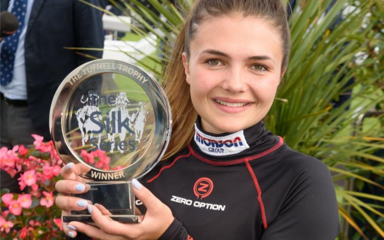 Megan Nicholls, Silk Series Champion 2018